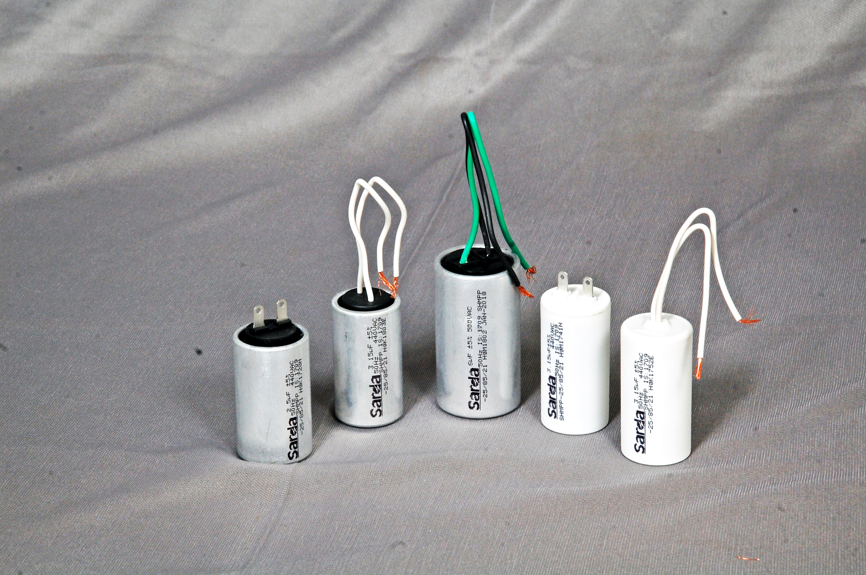 the capacitor remains permanently in series in starting and running  condition  these types of motors are used